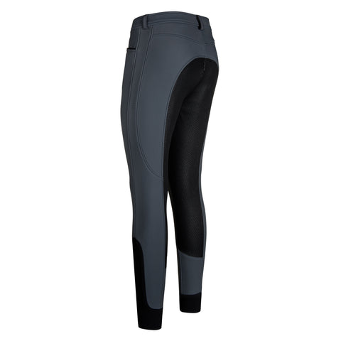Euro-star AW17 Carina Full Grip Winter Breeches - Graphite - Divine Equestrian
