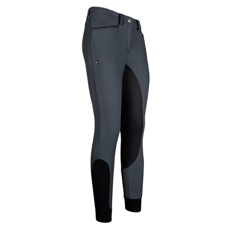 Euro-star AW17 Carina Full Grip Winter Breeches - Graphite