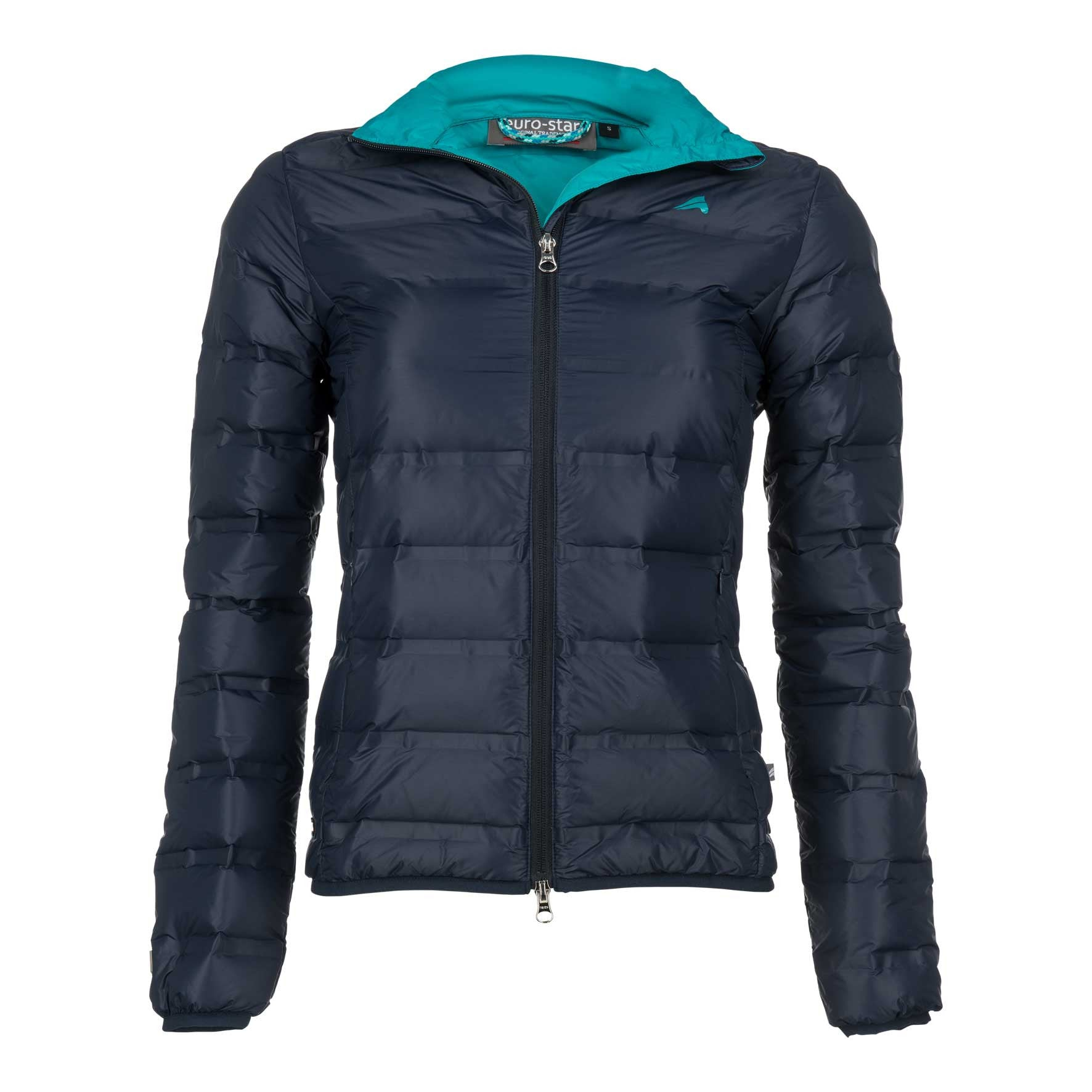 Euro-star Arona Ladies Jacket - Navy - Divine Equestrian