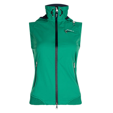 Euro-star SS17 Filipa Waistcoat - Wind & Waterproof - Shamrock