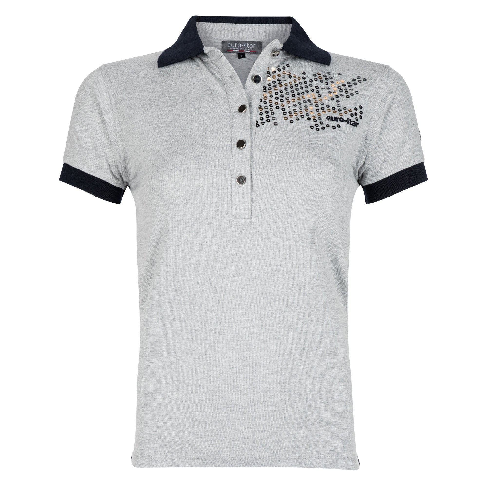 Euro-star SS17 Bella Polo Shirt - Grey