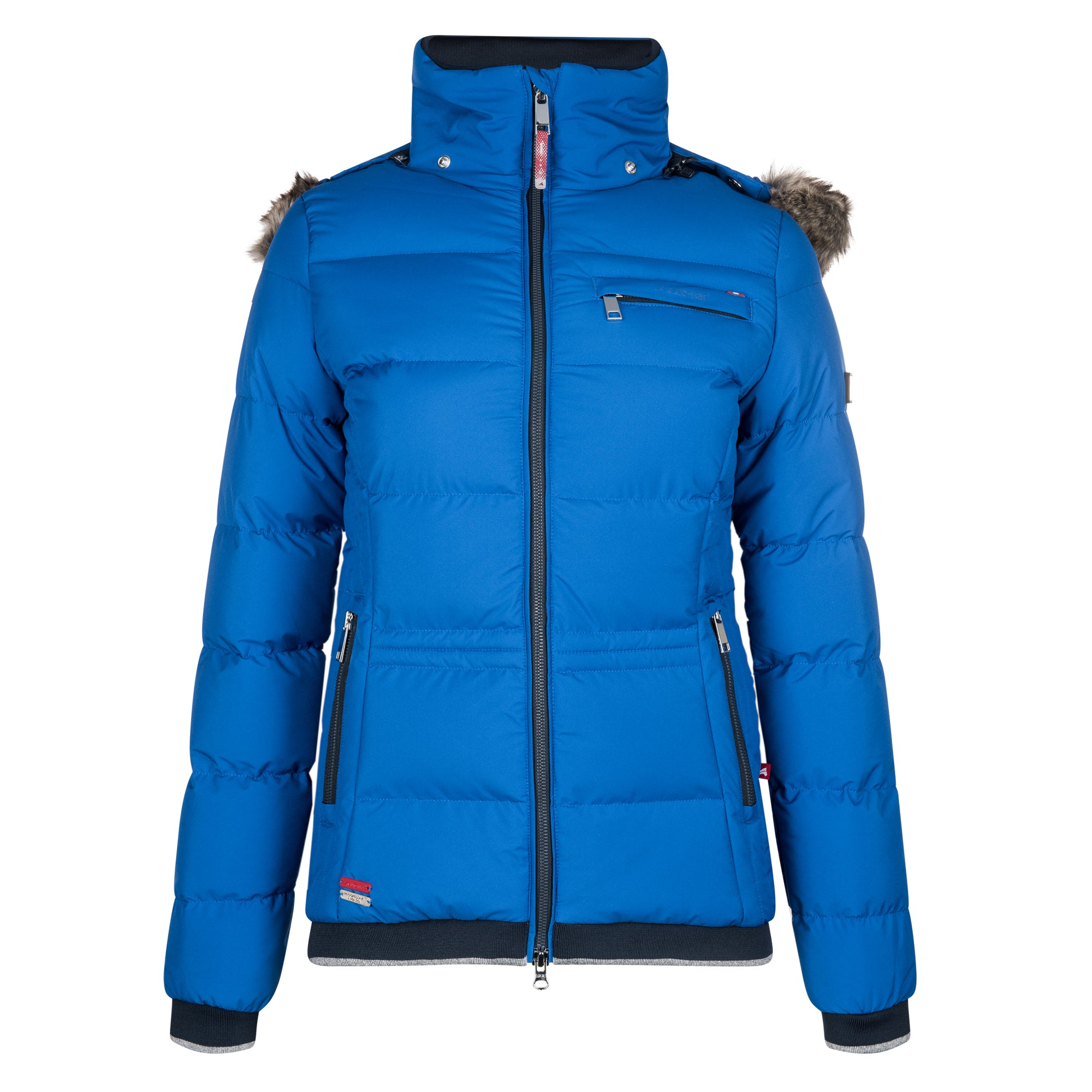 Euro-star Fabi Ladies Winter Jacket - Deep Blue