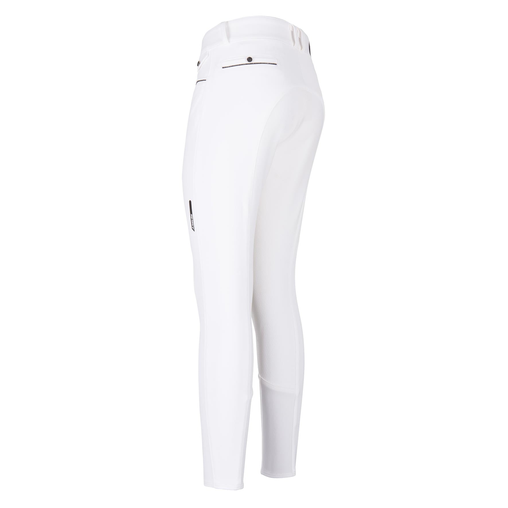 EURO-STAR ARIELLE FULL GRIP BREECHES - WHITE