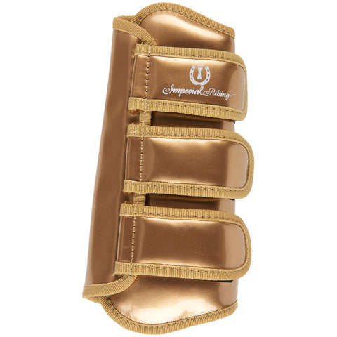 Imperial Riding Love Your Life  - GOLD Dressage boots - Divine Equestrian