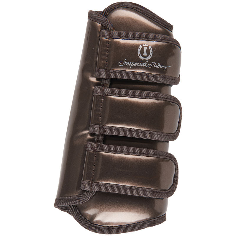 Imperial Riding Love Your Life  - GUN METAL Dressage boots - Divine Equestrian
