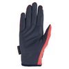 HV Polo SS19 Favouritas Touch Screen Gloves - Bright Coral & Navy - Divine Equestrian