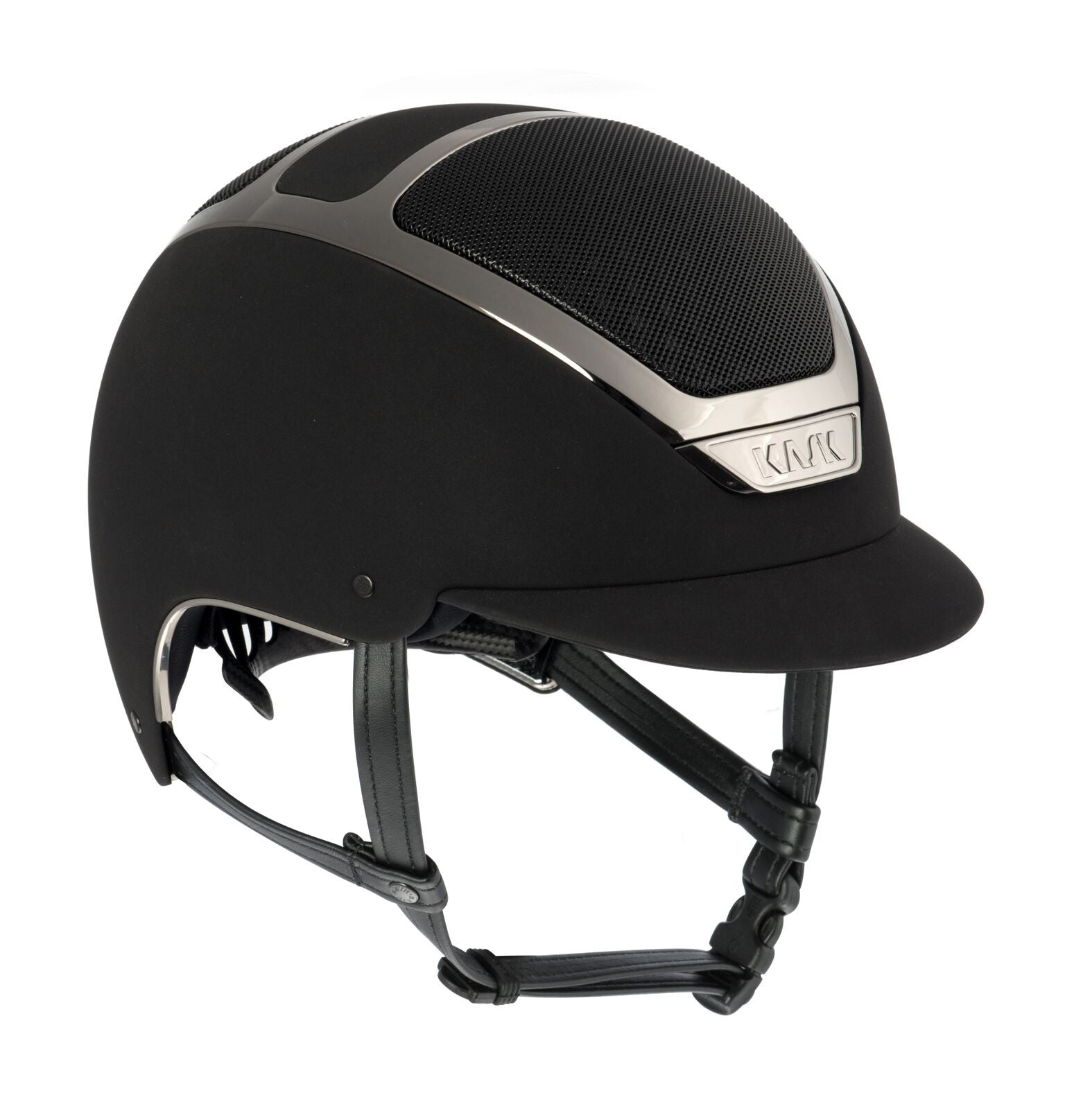 KASK DOGMA CHROME LIGHT - BLACK / SILVER - Divine Equestrian