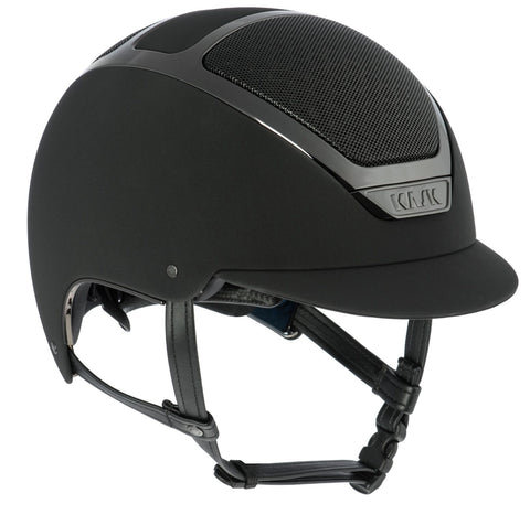 KASK DOGMA CHROME LIGHT  - BLACK / BLACK - Divine Equestrian