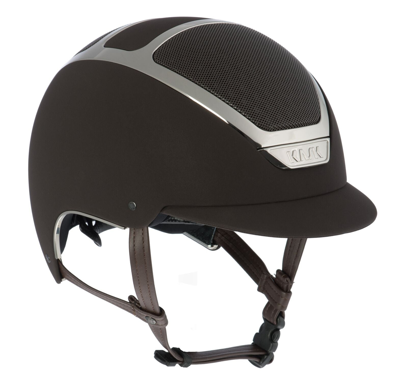 KASK DOGMA CHROME LIGHT - BROWN / SILVER