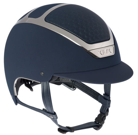 KASK DOGMA CHROME LIGHT - NAVY / SILVER - Divine Equestrian