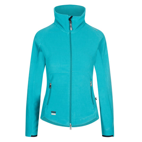 Euro-star Gale Fleece Jacket - Emerald