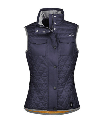 Cavallo SS16 Gina Lightweight Gilet - Bluenight only - Divine Equestrian