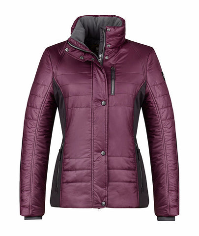 Cavallo Holly Primaloft Softshell Mix Jacket in Prune