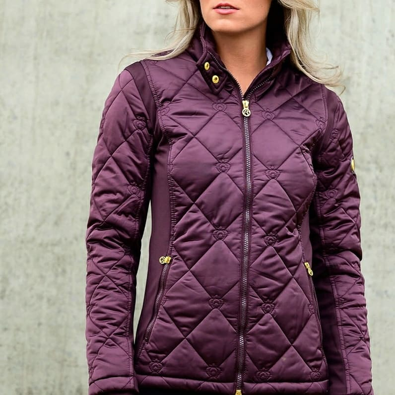 PS of sweden Gina Ladies Jacket - Wine - Divine Equestrian