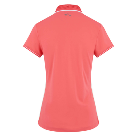 HV Polo SS19 Jessica Ladies Poloshirt - Bright Coral