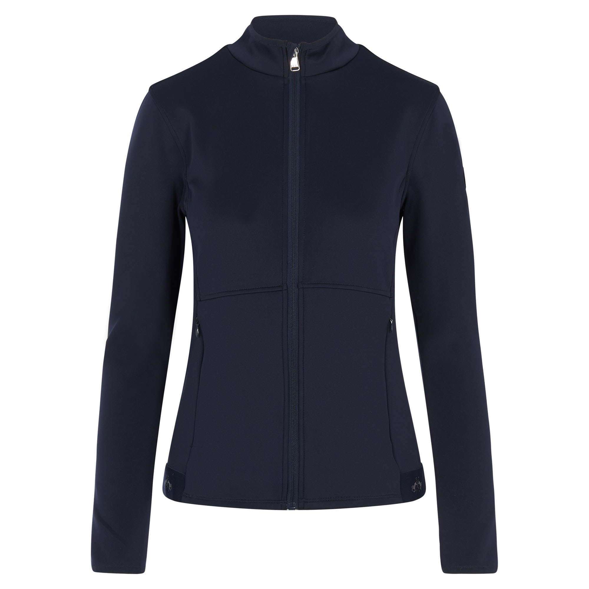 HV-POLO Lucy Technical Full Zip Top - Navy - Divine Equestrian