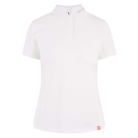 Imperial Riding SS19 Number One Ladies Competition Shirt - White