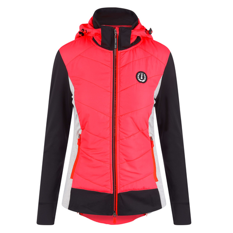Imperial Riding SS19 Playful Ladies Lightweight Jacket - Diva Pink