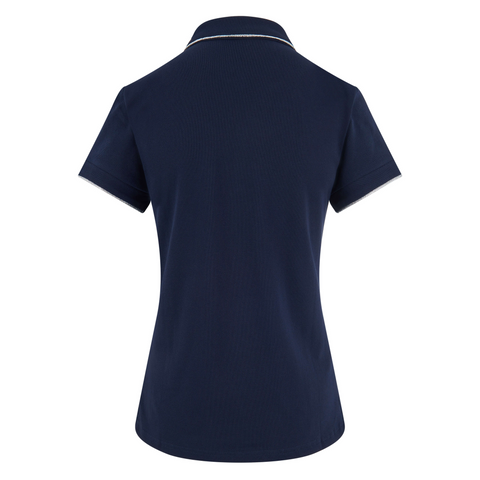 Imperial Riding SS19 Romance Ladies Polo Shirt - Navy