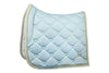 PS of Sweden SS20 Monogram Saddle Pad - SKY BLUE - Divine Equestrian