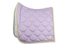 PS of Sweden SS20 Monogram Saddle Pad - Lilac - Divine Equestrian