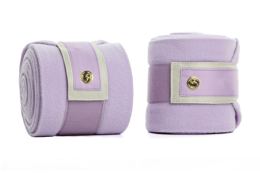 PS of Sweden SS20 Monogram Bandages- LILAC - Divine Equestrian