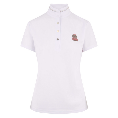 Imperial Riding SS19 Spirit Ladies Competition Shirt- White