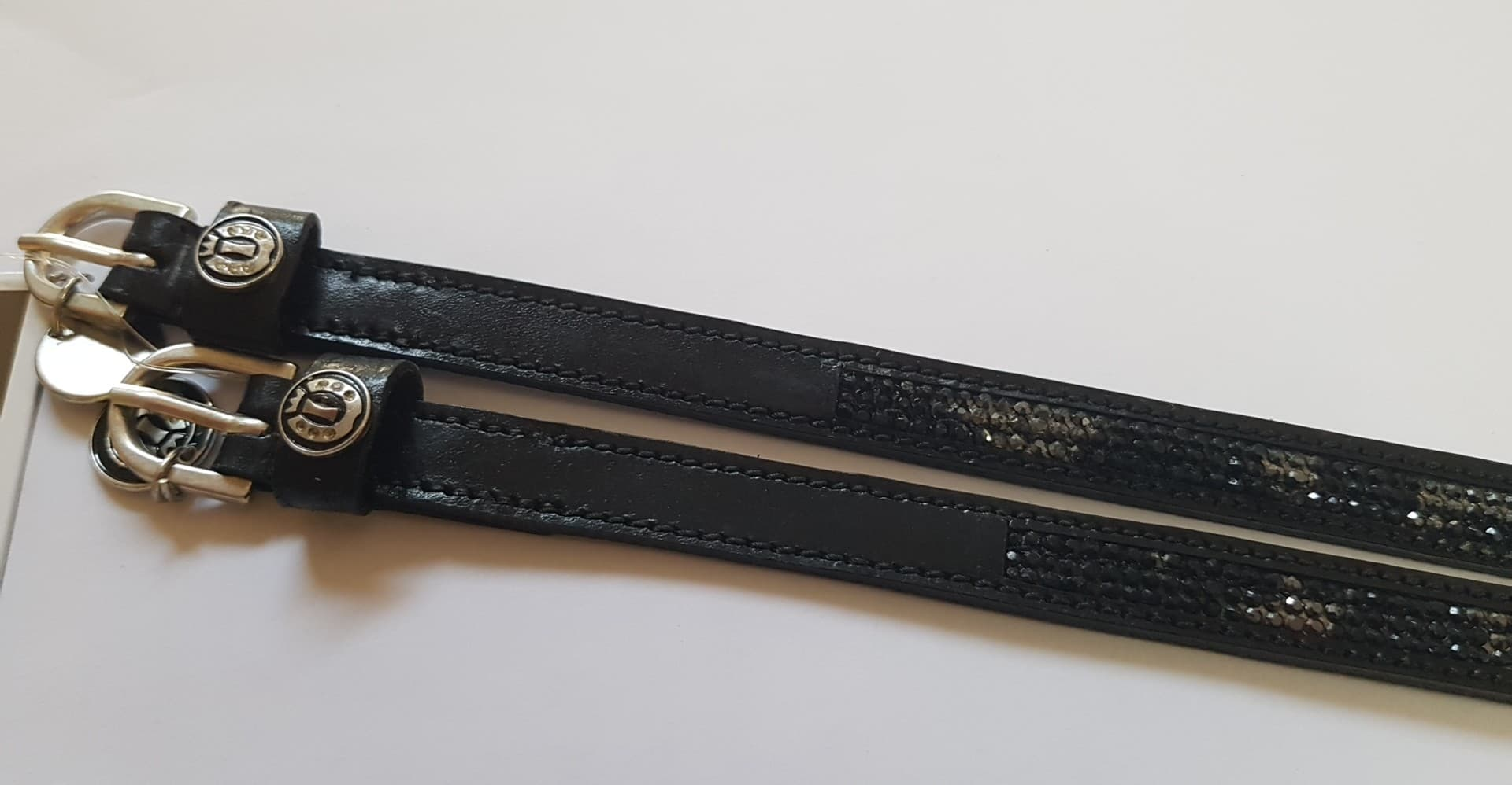 Imperial Riding Pattern Spur Straps - Multi - Divine Equestrian