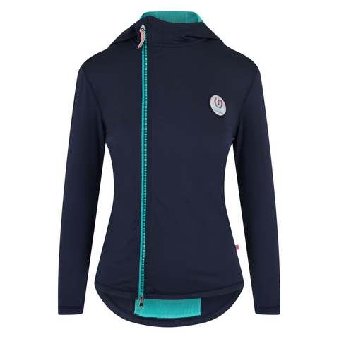 Imperial Riding SS19 Super Cool Ladies Sweat Top full zip - Navy