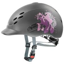 UVEX ONYXX LITTLE PONY CHILDRENS HAT - ANTHRACITE MAT
