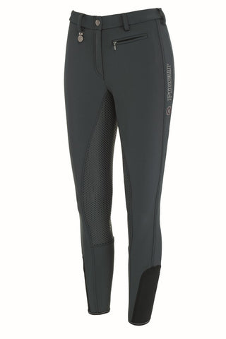 Pikeur Lucinda Grip II Corkshell Winter Breeches - Dark Shadow