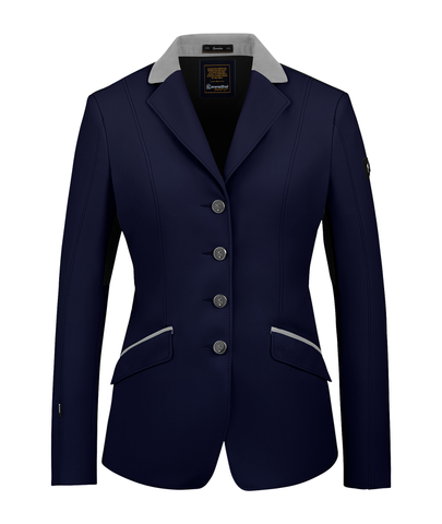 Cavallo Estoril MA Show Jacket - Deep Blue / Light Grey
