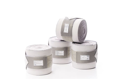 RBH Platinum Fleece / Elastic Bandages - Silver White