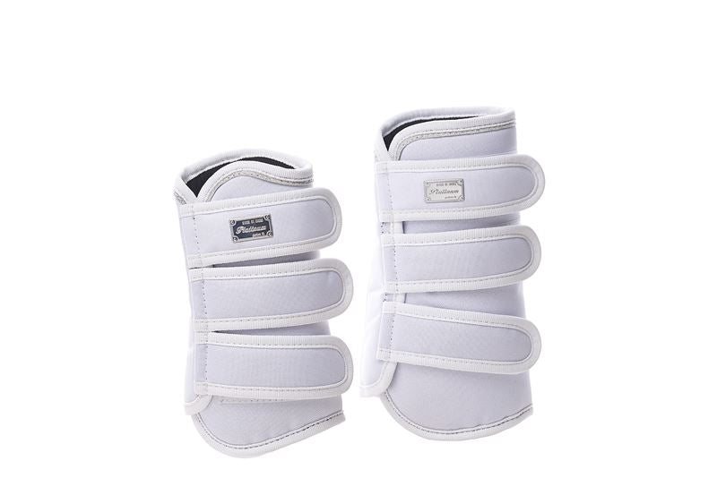 RBH Platinum Black Condura Dressage Boot Set of 4 - White - Divine Equestrian