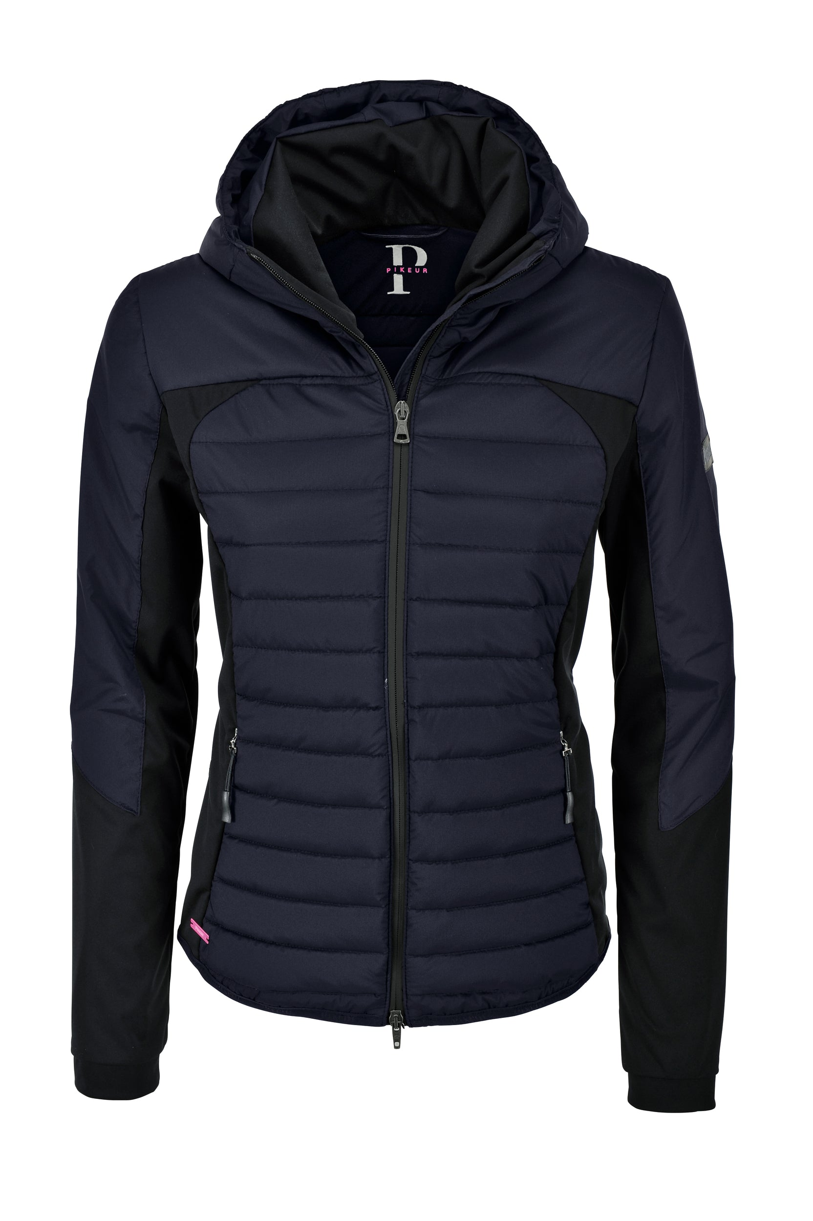 Pikeur SS20 Ginny Hybrid Jacket with attached Hood- Night Sky - Divine Equestrian