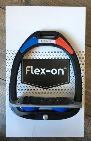 Flex-on Composite Stirrups Flat footrest with Grip or ultra Grip