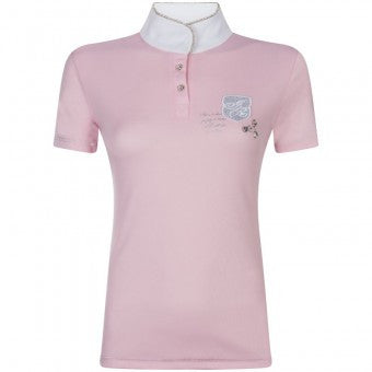 Imperial Riding Laroche Competition Shirt - Rose - Divine Equestrian