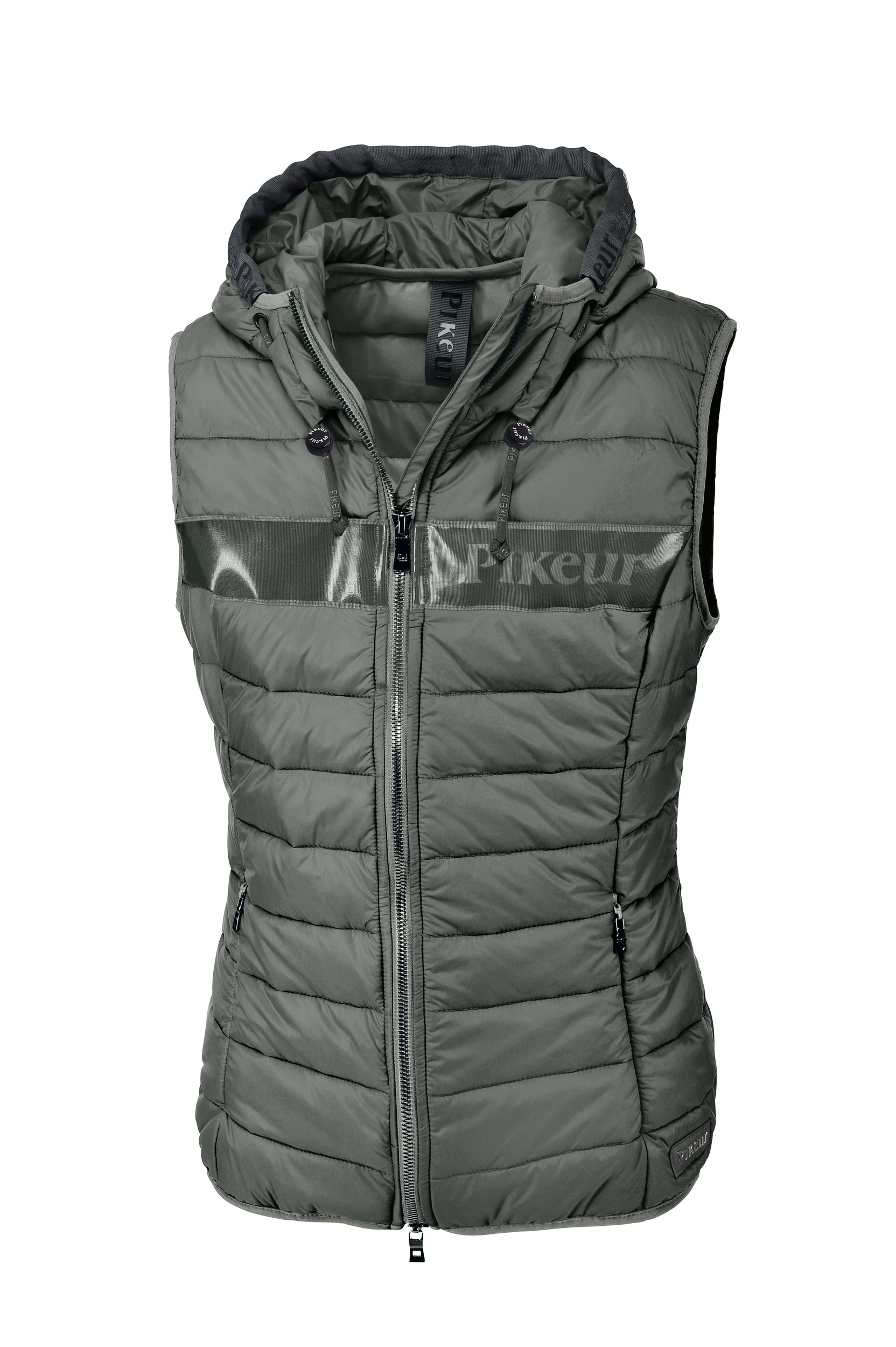 Pikeur SS20 New Generation Jess quilted Gilet - laurel green - Divine Equestrian