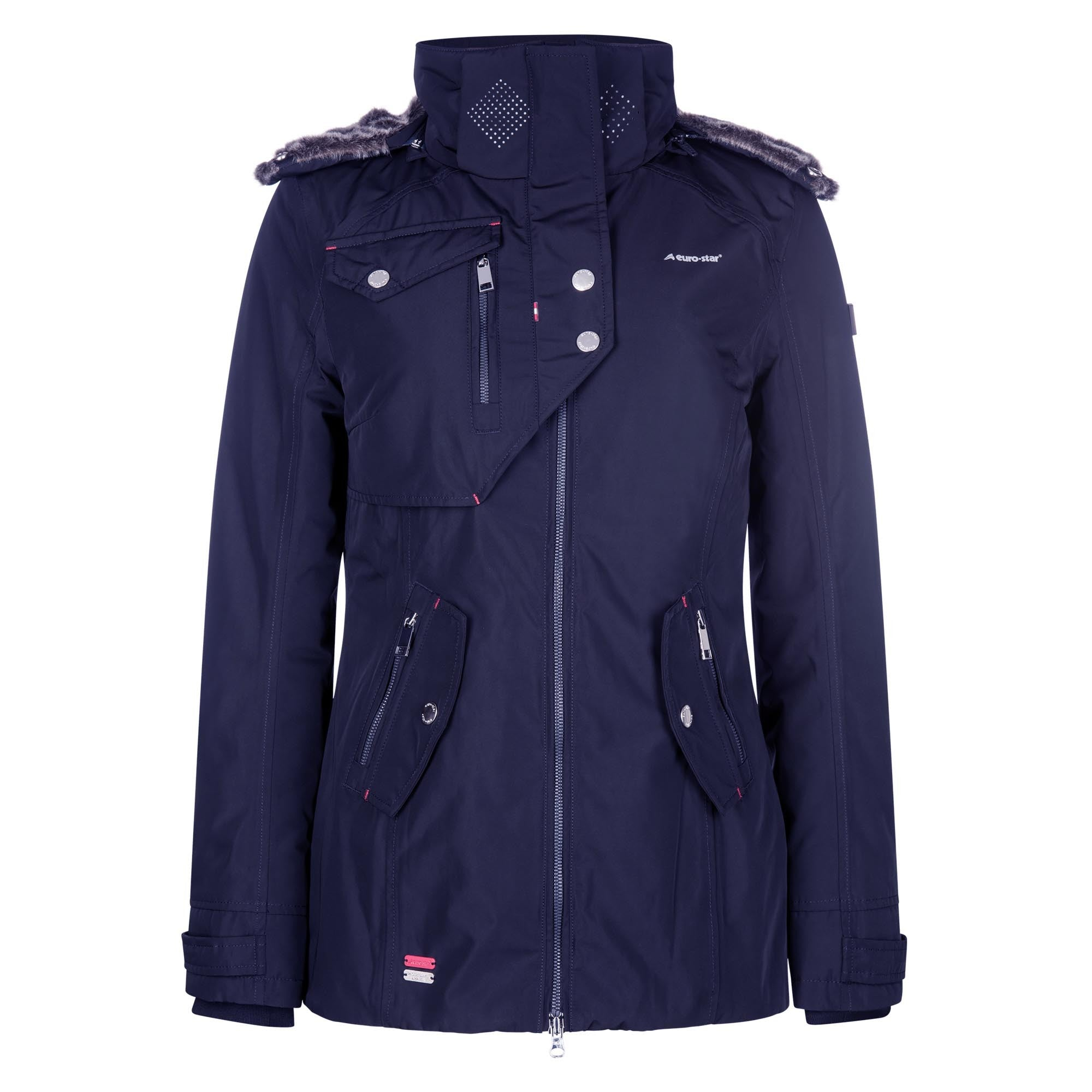 Euro-star Lajana Waterproof Jacket - Navy