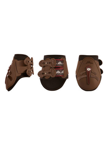 MakeBe Temple Fetlock Boots in Brown - Medium