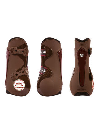 MakeBe Temple Tendon Boots in Brown - Medium