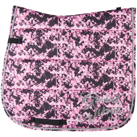 Imperial Riding Pattern saddle pad - Multi Geometric - Dressage only