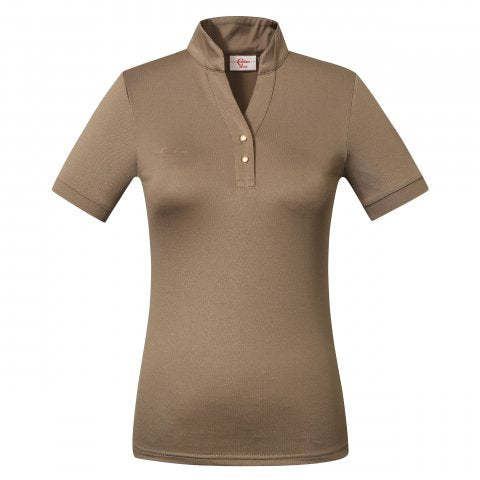 Covalliero SS21 Functional Ladies Polo Shirt  - Wood - Divine Equestrian