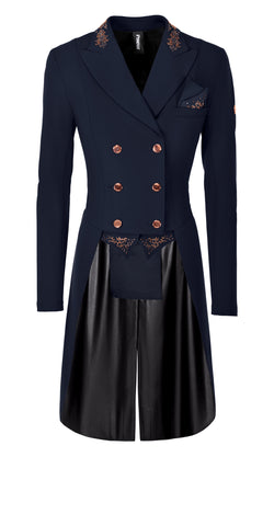Pikeur SS20 Lilien Ladies Tailcoat - NAVY Pure Rose - PRE ORDER DUE IN WITHIN NEXT 2 WEEKS - Divine Equestrian