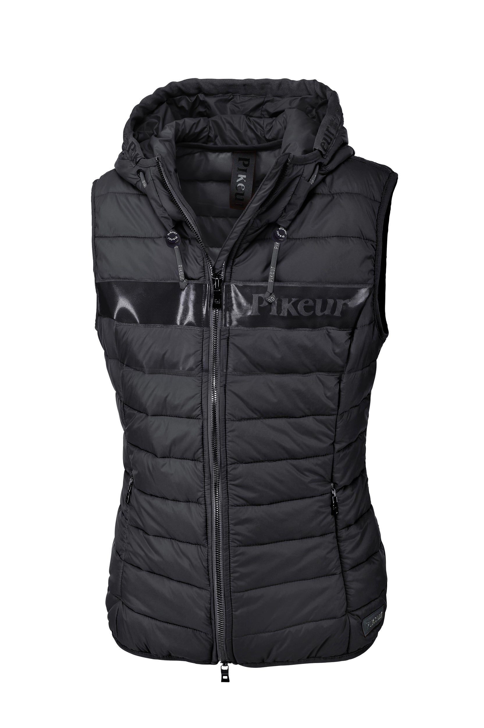 Pikeur SS20 New Generation Jess quilted Gilet - Anthra - Divine Equestrian