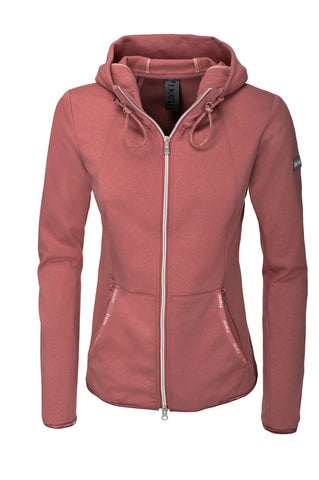 Pikeur SS20 Juliet Ladies Fleece with Hood - Rouge - Divine Equestrian