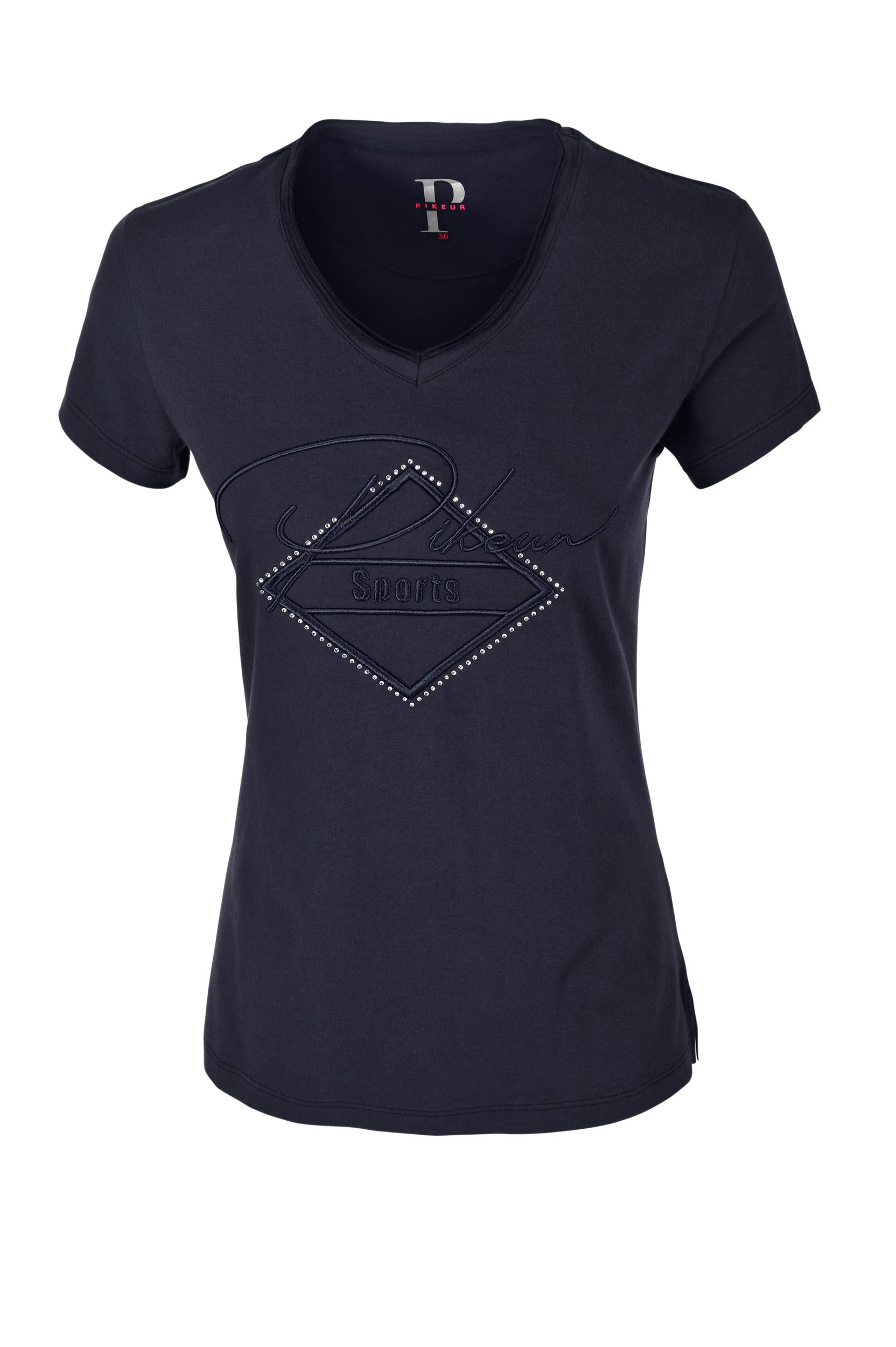 Pikeur SS20 YVA Ladies Round Neck T-shirt - Night Sky - Divine Equestrian