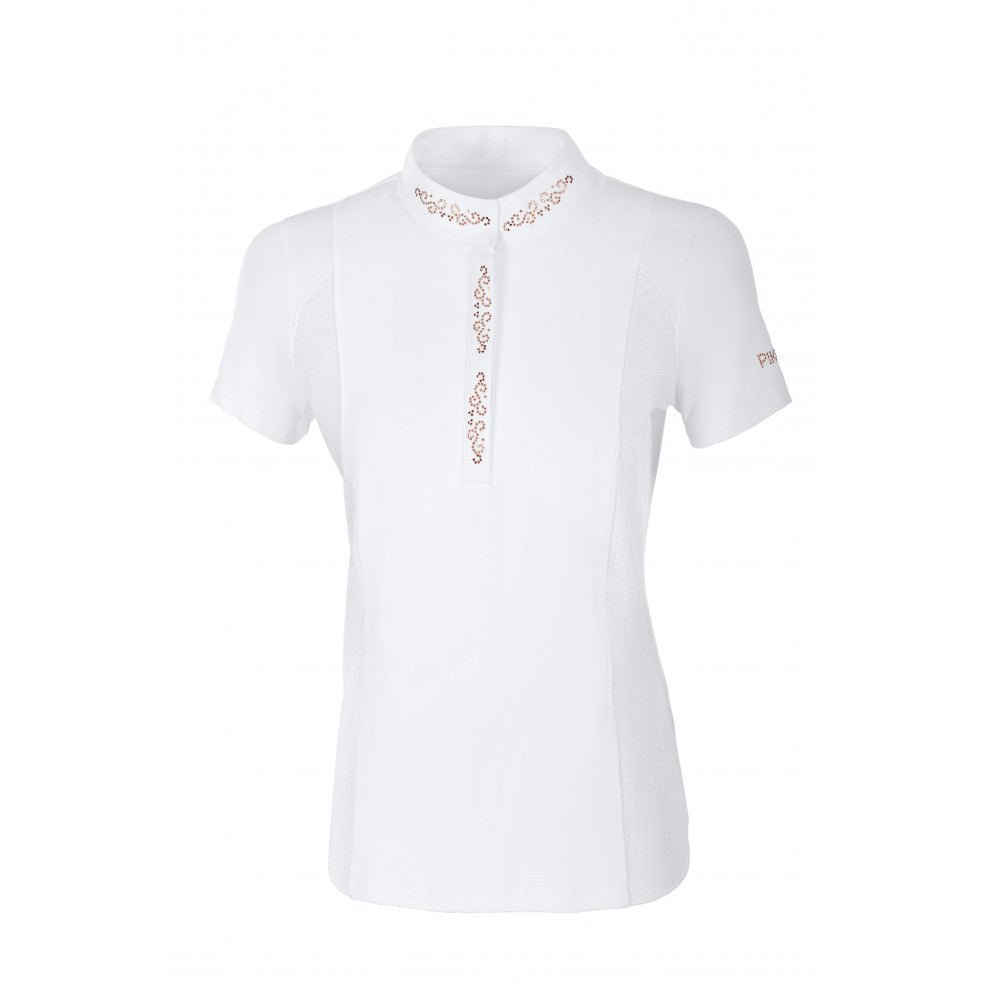 Pikeur Isis Ladies Competition shirt Rose Gold features - Divine Equestrian