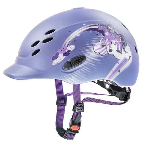 UVEX ONYXX PRINCESS CHILDRENS HAT - VIOLET - 3XS-XS