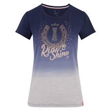 Imperial Riding SS19 Sweet Candy Fade T-shirt - Navy